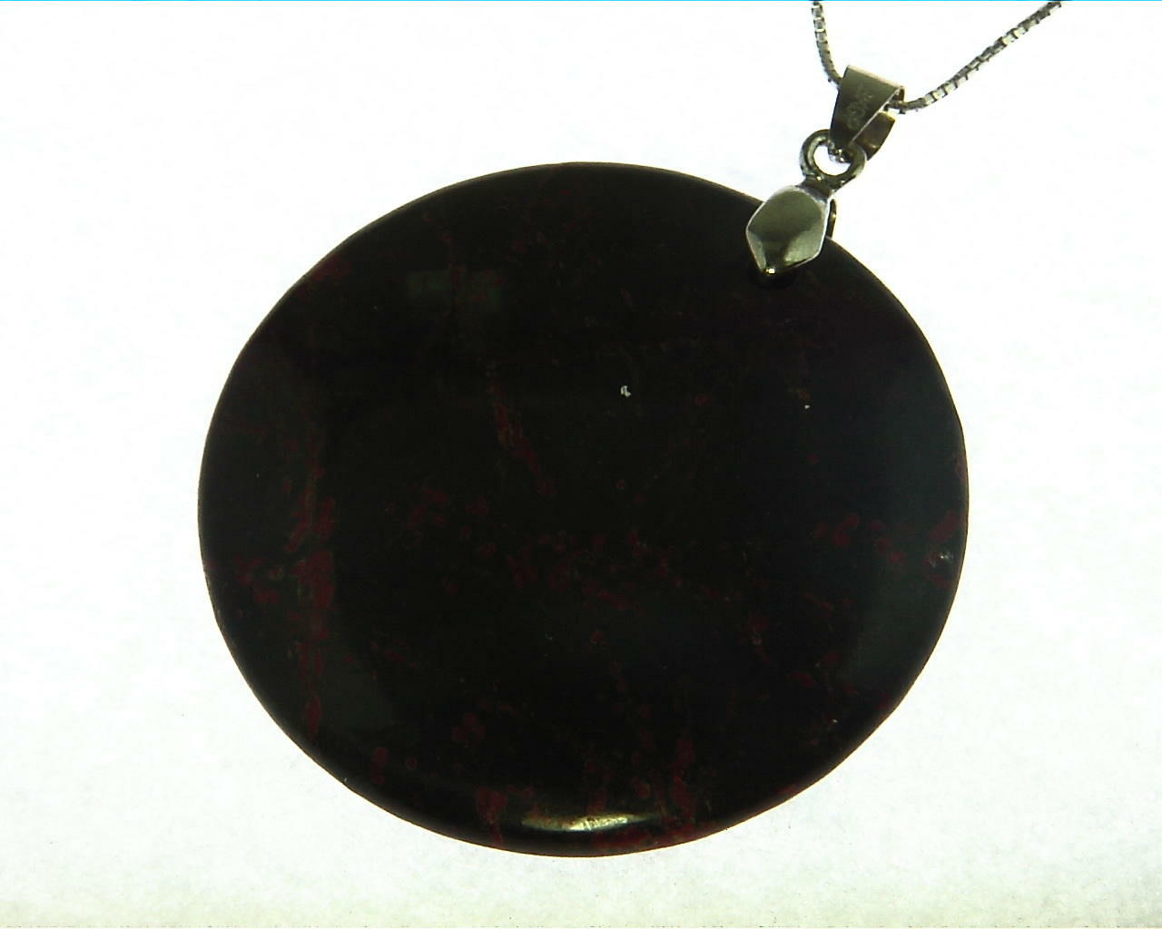 Agate Natural Genuine Gemstone Sterling Silver Pendent PSS,822