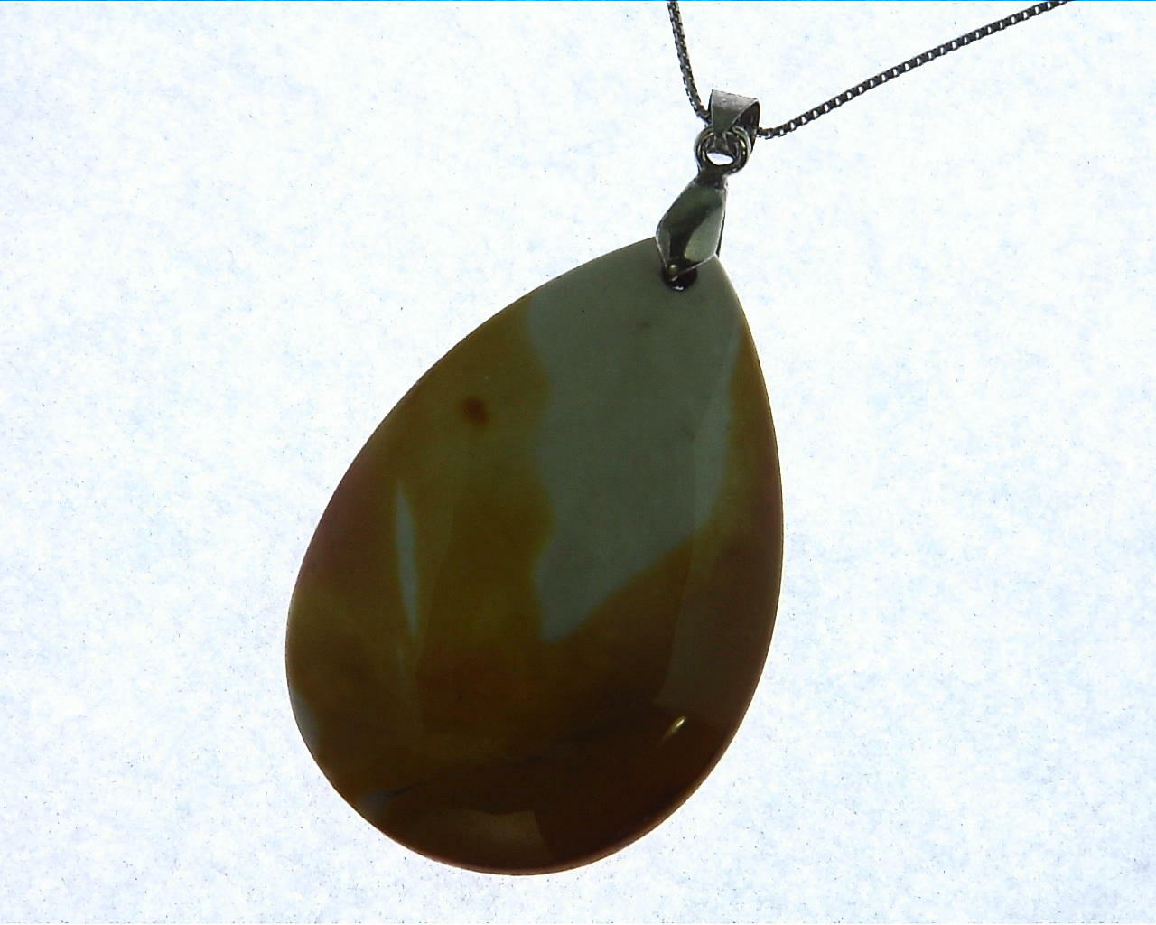 Agate Natural Genuine Pendent