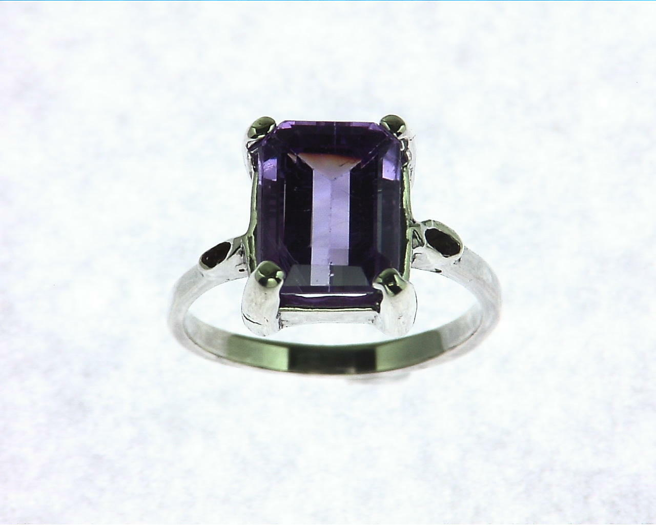 Amethyst Antique Sterling Silver, RSS,980