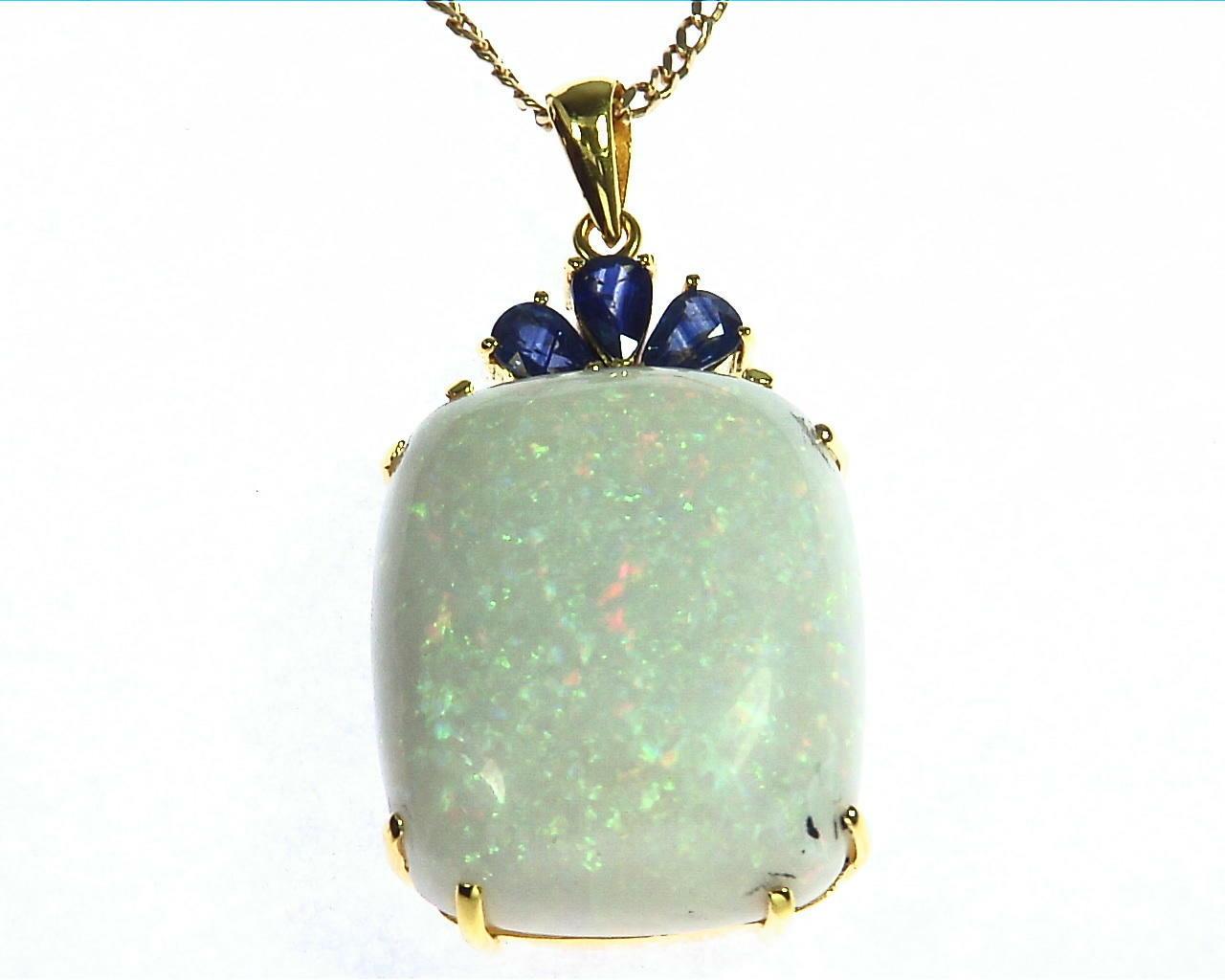 Australian Opal pendent 4