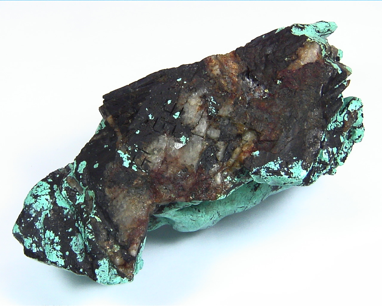 Turquoise Natural Genuine Gemstone Carved Lion Chasing a Bow in a Sculpture 10