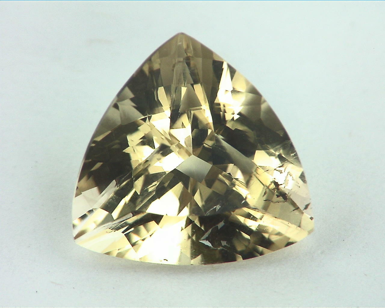 Citrine Genuine Gemstone Trilliant cut GSG,48
