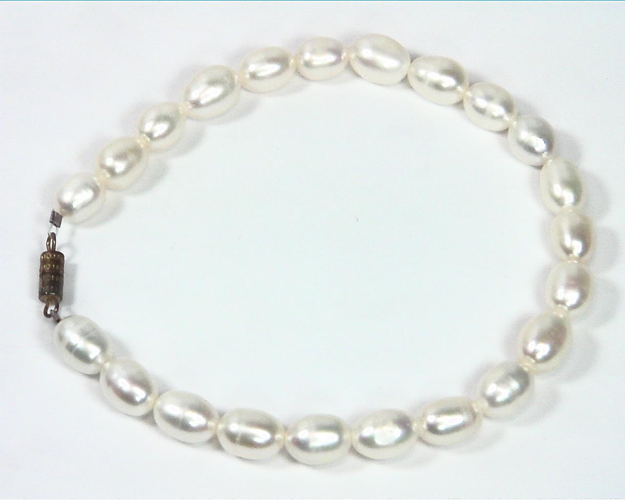Pearl (Fresh Water) genuine Bracelet BSB,793 3