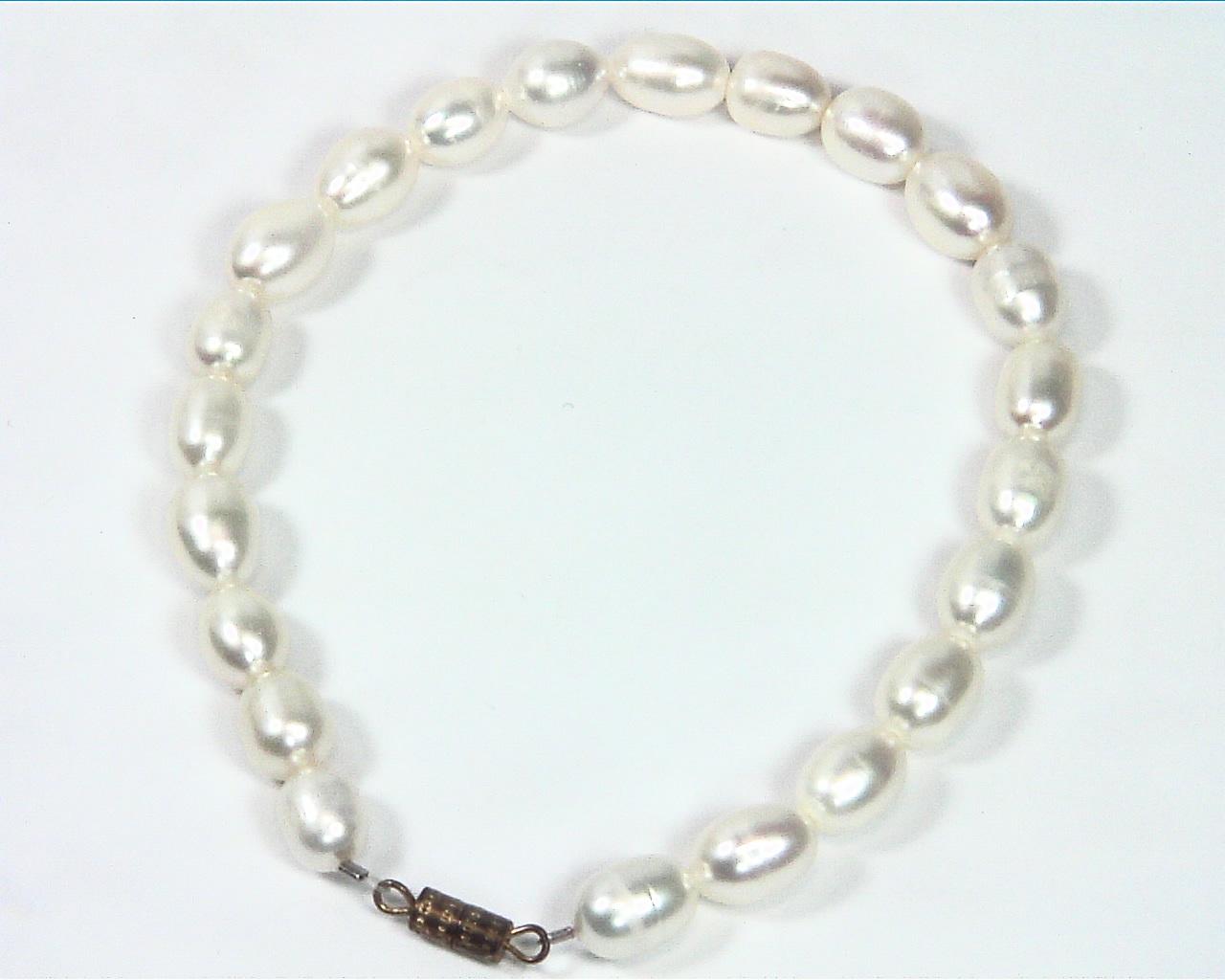 Pearl (Fresh Water) genuine Bracelet BSB,793 4