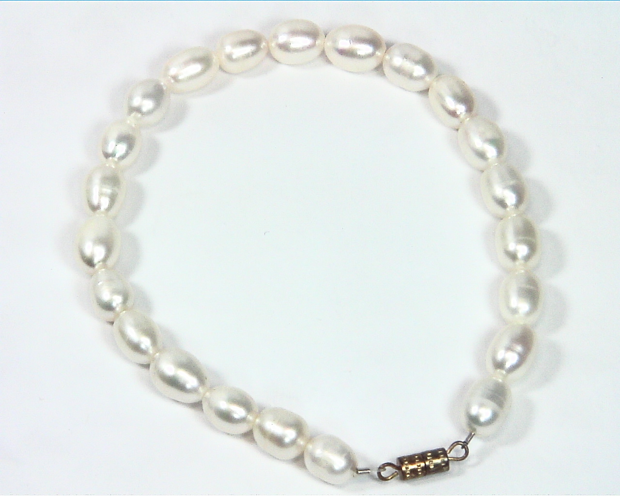 Pearl (Fresh Water) genuine Bracelet BSB,793 5