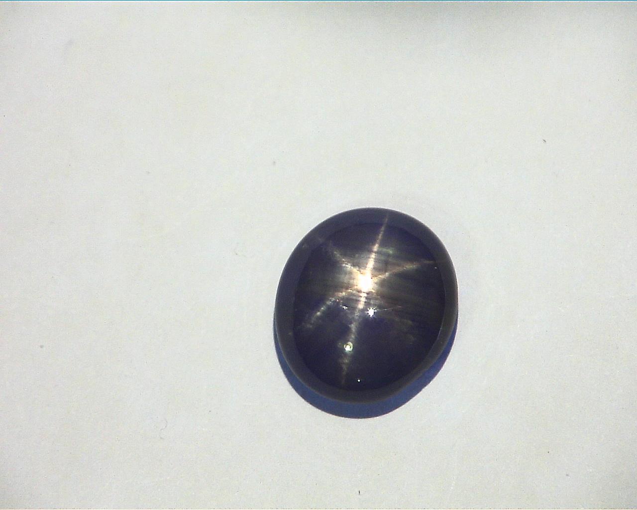 Blue Star Sapphire natural Genuine Gemstone GPG,755