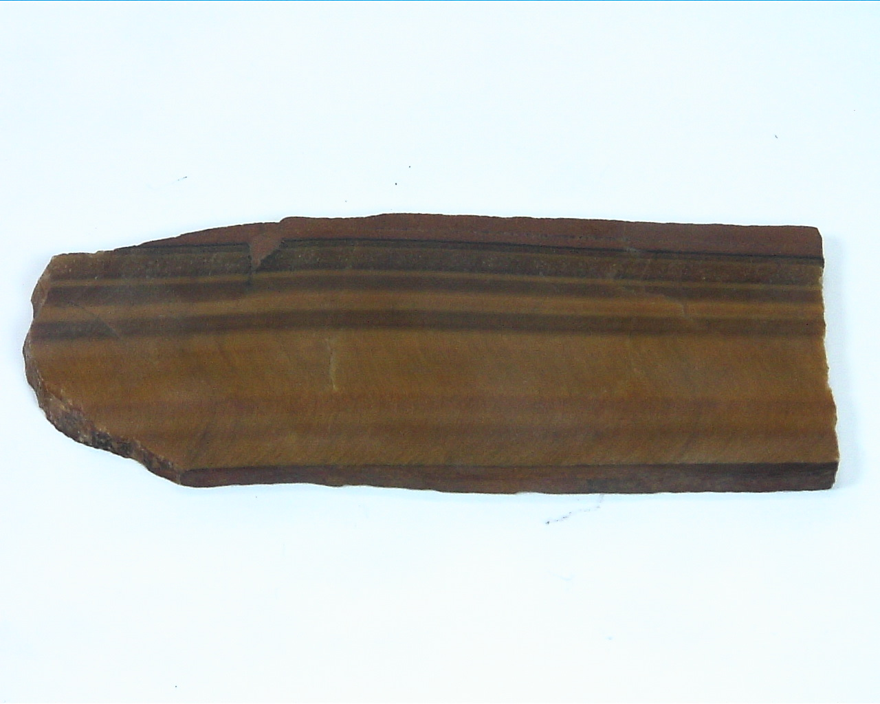 Tiger Eye Natural Genuine Slice
