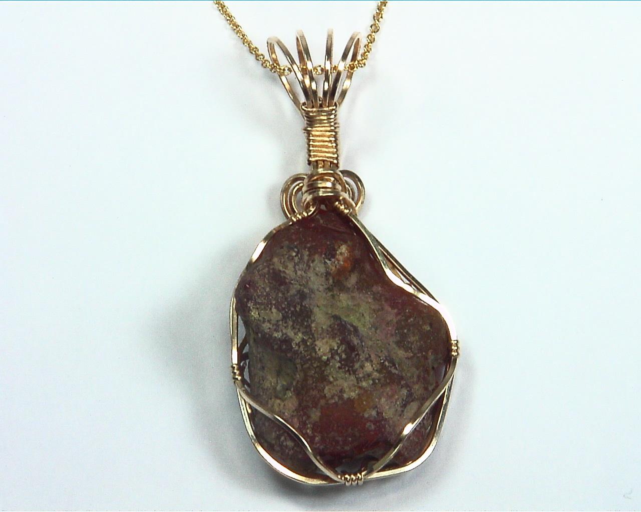 Opal (Ethiopian Black) Natural Genuine Gemstone Pendent, NFG982 4