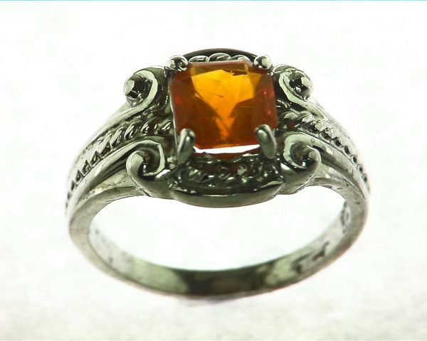 Mexican Opal Sterling Silver Ring
