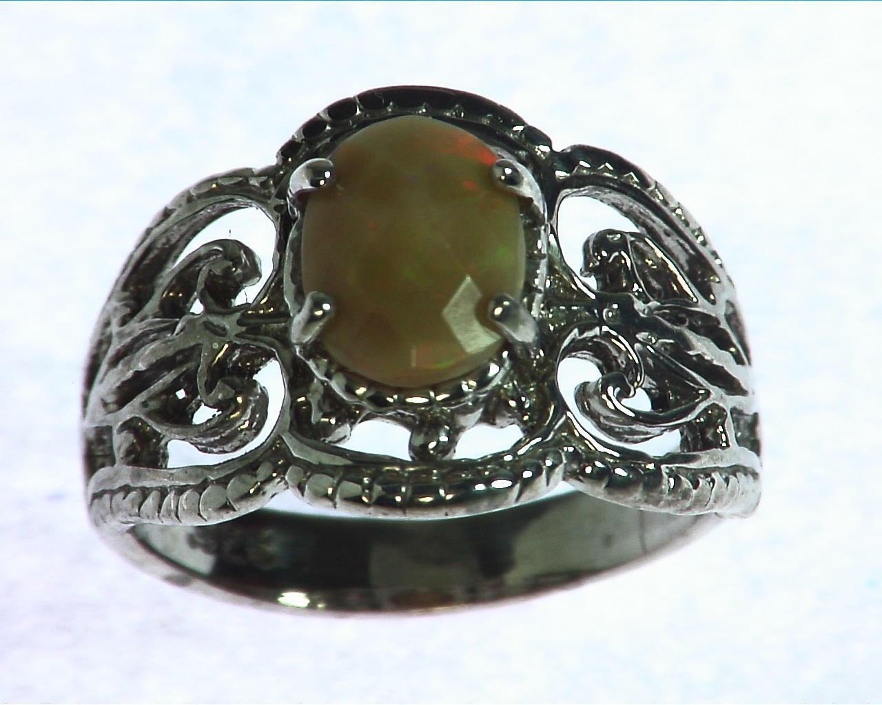 Ethiopian Opal Sterling Silver