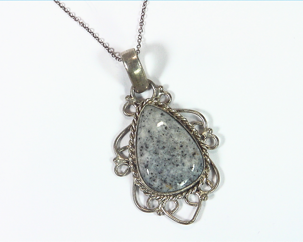 Agate Silver Pendent PSS,890