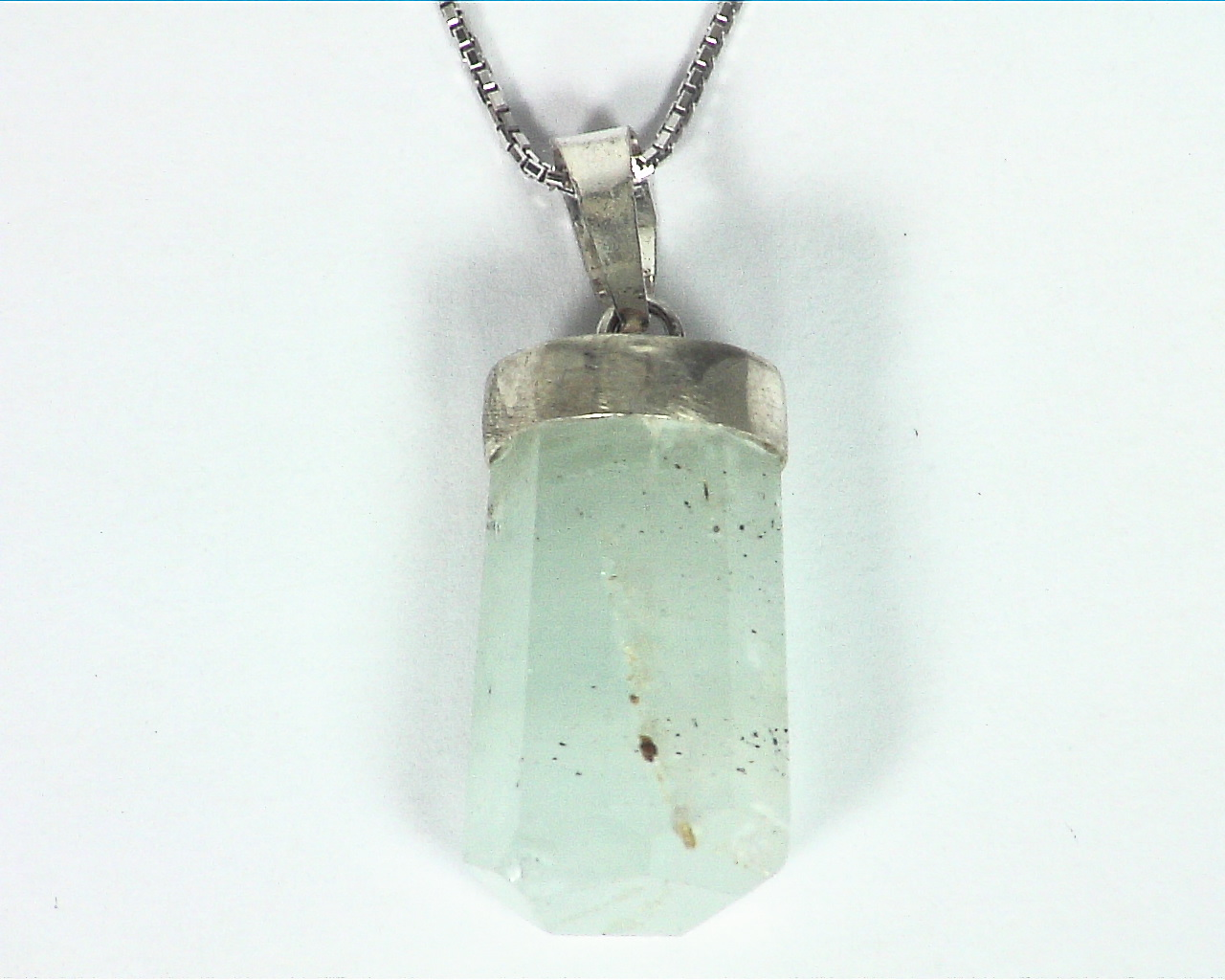 Aquamarine crystal Pendant PSS,923