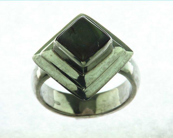 Labradorite Moonstone Sterling Silver Ring 1