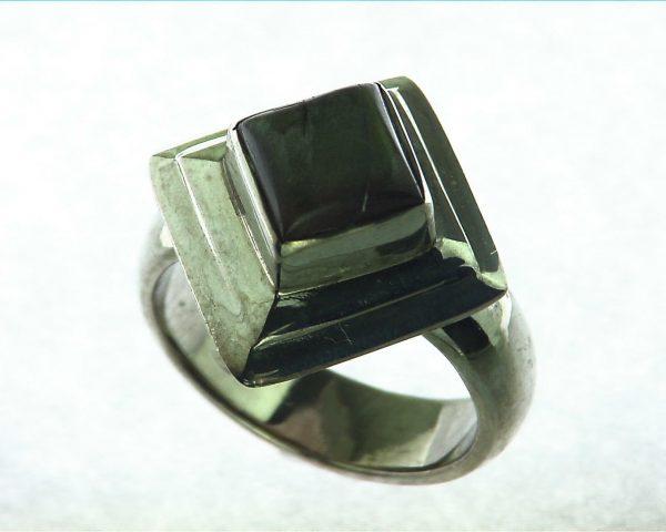 Labradorite Moonstone Sterling Silver Ring 2