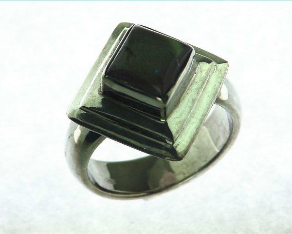 Labradorite Moonstone Sterling Silver Ring 3